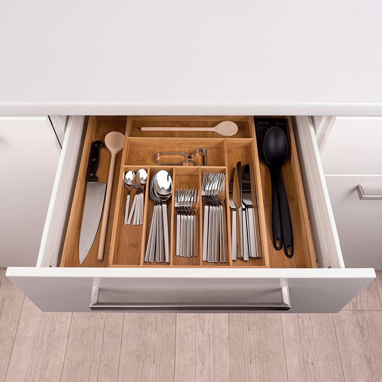 Organizer per cassetti della cucina
