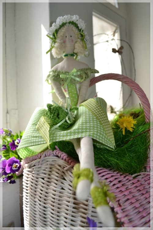 La Tilda Verde Gemma di Pompea Tagliente   Cucito Creativo