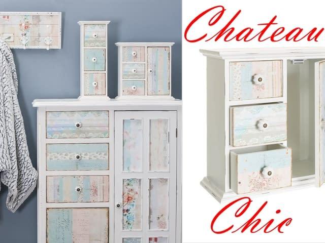 Chateau Chic Mobile con cassetti