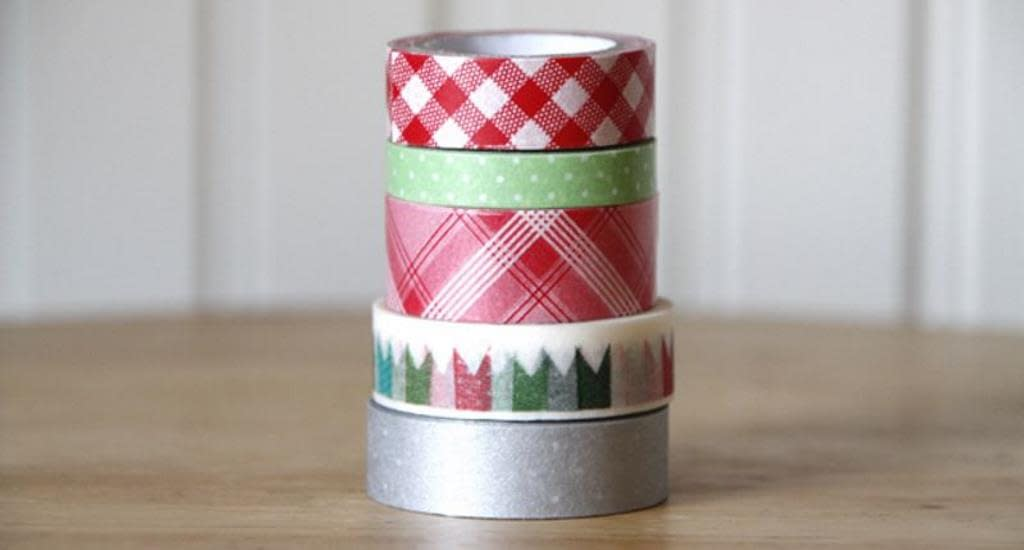 Washi Tape natalizi