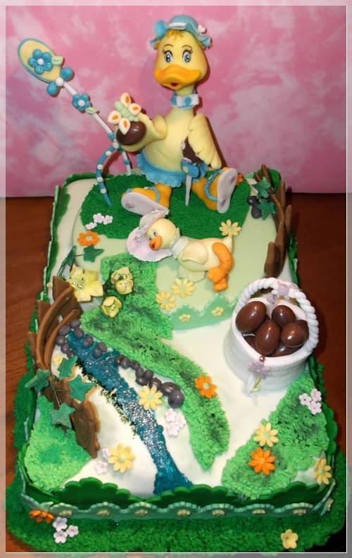 Decorazione di Pasqua per torta di Luciana Onnis | Cake design