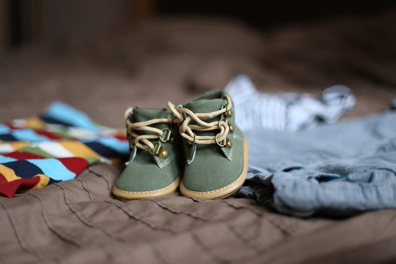 Scegliere le scarpe da neonato